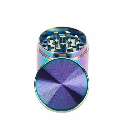 4 Piece Grinder, Tobacco Herb Spice WEE D-Crusher, Alloy Smoke Metal NEW