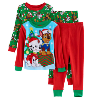 a2e5072f4 NEW PAW PATROL 3T 4T Toddler Boys FOOTED PAJAMAS Blanket Sleeper Pjs ...