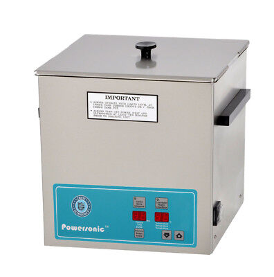 NEW ! Crest Powersonic P1100H-45 3.25 Gal Heated Ultrasonic Cleaner, 1100PH045-1