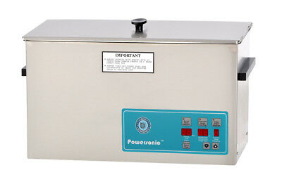 NEW ! Crest Powersonic P1200D-45 2.5 Gal Heated Ultrasonic Cleaner, 1200PD045-1