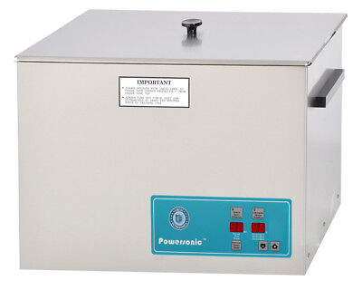 NEW ! Crest Powersonic P1800H-45 5.25 Gal Heated Ultrasonic Cleaner, 1800PH045-1