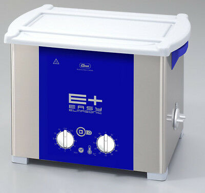 ELMA EP120H PLUS 3.5 Gal Heated Ultrasonic Cleaner, Pulse+Sweep Freq. 1071672