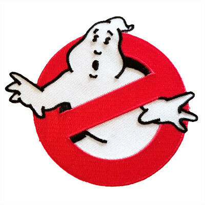 Ghostbusters movie film logo iron on no ghost quality patch