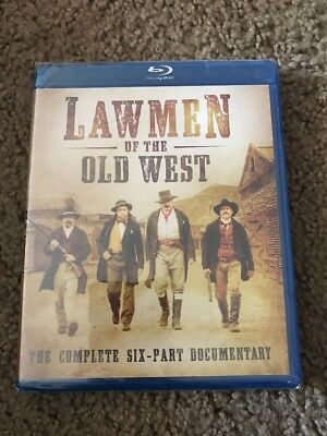 Lawmen of the Old West Blu-ray Disc, 2014*NEW* Complete Six-Part Documentary🍎