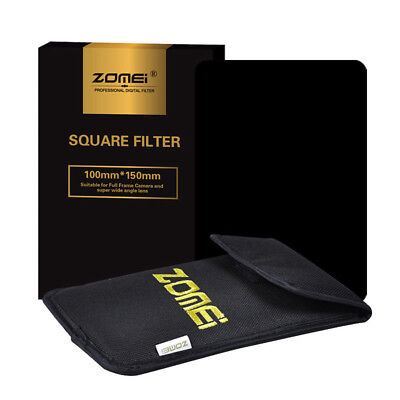 ZOMEI 150*100mm Square Neutral Density Filter Kit ND16 for Cokin Z-Pro