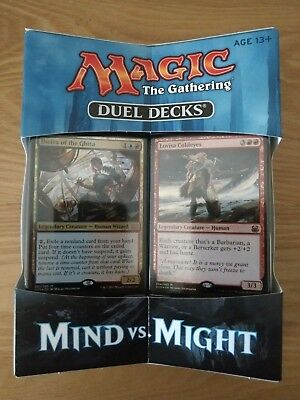 MTG DUEL DECKS * Mind Vs. Might * Brand new and sealed.