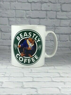 Beastly Coffee Mug - Disney Beauty & The Beast Inspired