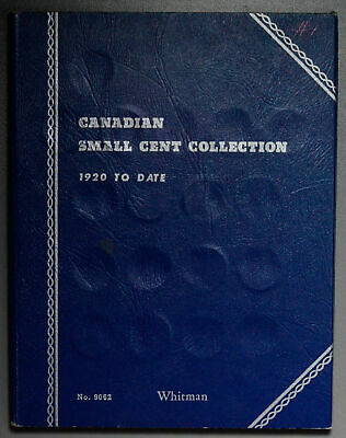 BU0161 Canada 1920 ~52 Small Cent Collection complete set in Whitman album combi