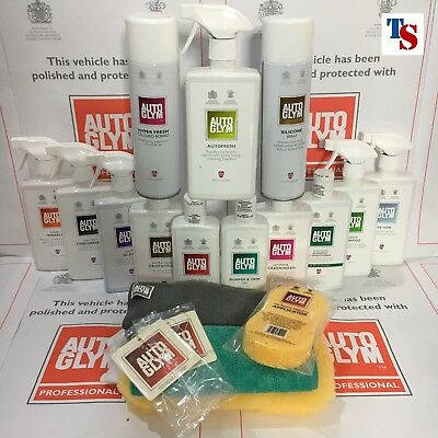 Autoglym Car Valeting Kit 20pc - Complete Car Cleaning Kit RRP £245 *Ideal Gift*