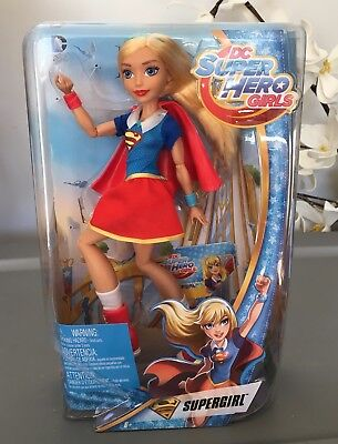 "DC Super Hero Girl Supergirl 12"" Action Doll Figure Toy Superhero Super Girl"