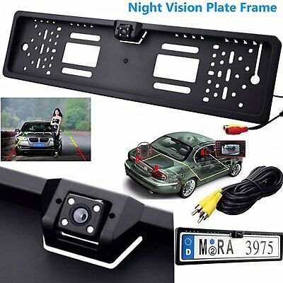 Car Rear Camera View Parking Reversing Backup License Number Plate Night Vision