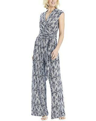 New Womens Nightingales Printed Jersey Jumpsuit