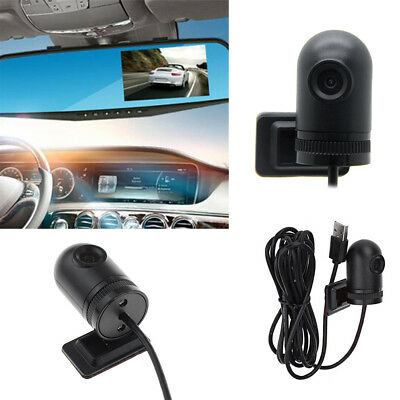 Rear View 140 Degree USB Car DVR Recorder Camera for CPU RK3066 Android 4.4/4.2