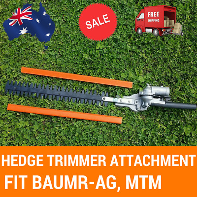 Hedge Trimmer Attachment 9 Spline for Brush Cutter, Multi Tool Fit Baumr-AG, MTM