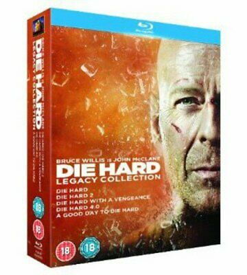 Die Hard - Legacy Collection (Films 1-5) [1988] (Blu-ray)
