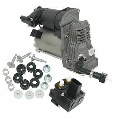 Air Suspension Compressor Pump with 2 Corner For BMW X5 E70 X6 E71 37206859714