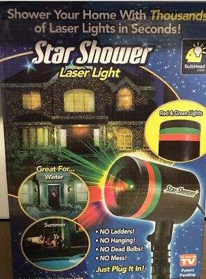 Free Express Post !! Star shower laser light - As Seen On Tv -Christmas Party