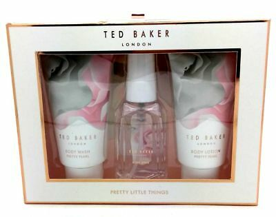 Ted Baker London Pretty Little Things Mini Trio Gift Set New