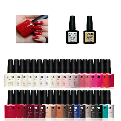 CND Shellac UV Nail Polish choose from colours, Top Coat & Base Coat