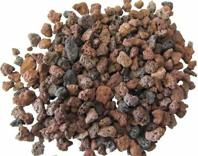 25 KG Volcanic Lava Rock Substrate  Gravel,  Aquascaping, Planted Aquarium 3-5mm
