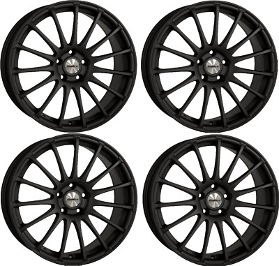 "15"" Alloy Wheels Calibre Rapide Mb Fit For Vw Lupo Polo Up Vento"