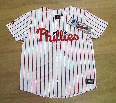 Philadelphia Phillies - Youth 10-12 Years Old - MLB Baseball Jersey - New & Tags