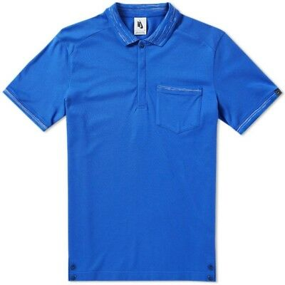 Nike Nikecourt X Roger Federer Rf Knit Polo Top 886470-443 Blue Size Xl New