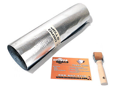 NEW 48 SqFT 80mil Car Sound Deadener Kit includes Dynamat Xtreme Sample