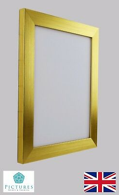 """Silver Photo Picture Frame 28mm 11x11/"""" 11x12/"""" 11x13 11x14 11x15/""""-36/"""" Mount Glass"""