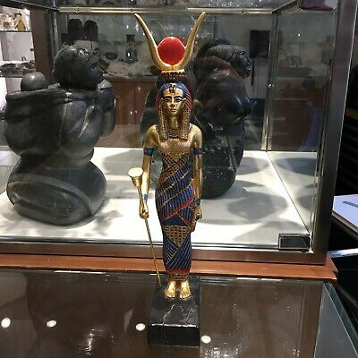 Statue of Egyptian Goddess Isis by Artisans Guild International
