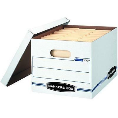 *10 Pack* Bankers Box Stor/File Storage Box w/Lift-Off Lid,Letter/Legal,12x10x15