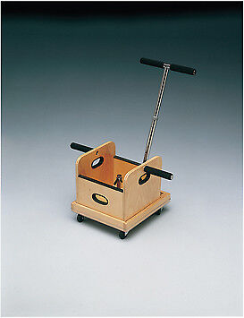 Cando Weighted Cart with T-Handle and Accessory Box