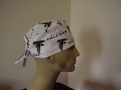 Surgical Scrub Hat/ Cap -NFL-ATLANTA FALCONS -One size- Men Women