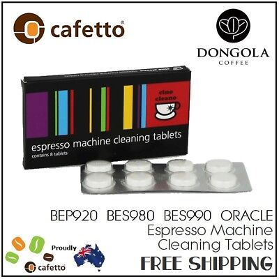 1PK BREVILLE BEP920 BES980 BES990 ORACLE Coffee Machine Cleaning Tablets