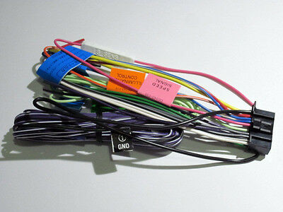 Original Jvc Kw Nt500Hdt Wire Harness New Oem A7 new wire harness for jvc kw avx720 cad $13 53 picclick ca jvc kw-avx720 wiring harness at n-0.co