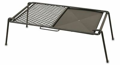 Campfire Flat Plate & Grill Cooker X-LARGE Portable BBQ Outdoor Camping COMPSS11