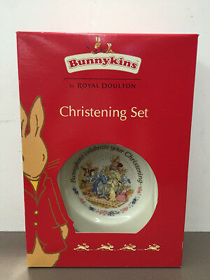 Bunnykins Royal Doulton Christening Set - BRAND NEW  RRP $90