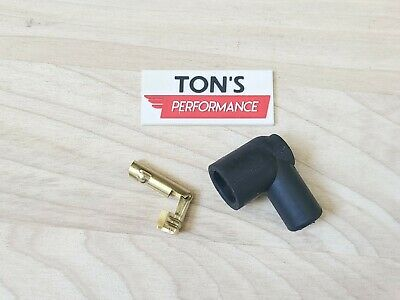 DIY Universal 90 degree right angle Spark Plug Coil Terminal and Boot 7mm
