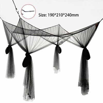 Super Size Four Corner Square Mosquito Net Bed Canopy Set Bedroom Decoration GT