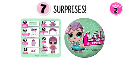 New Lol Surprise Doll Big Sister: Miss Punk Series 2- Mystery Pack 548447