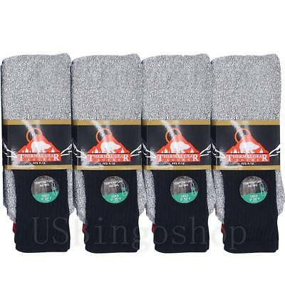 New Lot 12 Pairs Men's Winter Warm Tube Thick Boot Thermal Socks Outdoor 10-15