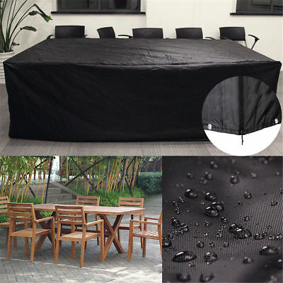 Waterproof Garden Outdoor Furniture Set Cover Patio Chairs Bench Sofa Protective