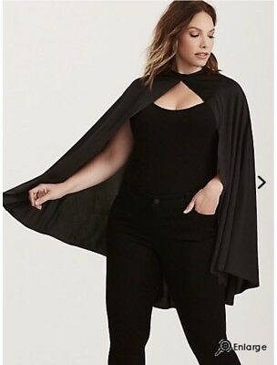 Torrid Halloween Cape - One Size *New In Package*