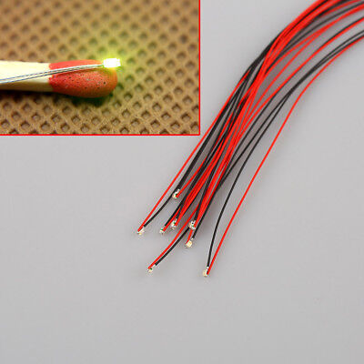 10Pcs T0603WM T0402 1206 Pre-soldered micro litz wired leads SMD Led Mutil-color