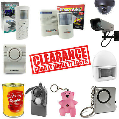 Personal Attack Rape Alarm PIR Decoy Dummy Camera Adult and Kids Alarms TV Sim