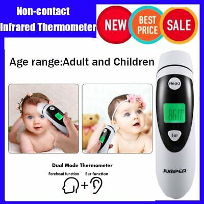Non-contact Ear & Forehead LCD Digital Infrared Thermometer Baby Adult Monitor A