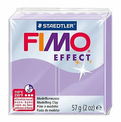 4 x FIMO Soft 57g LILAC Modelling Clay Oven Bake