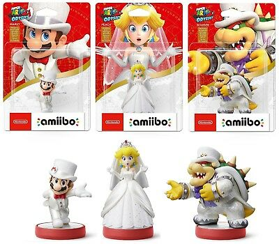 Super Mario Odyssey Amiibo Kollektion Wedding NEU OVP / NEW BOXED *EU-Vers*