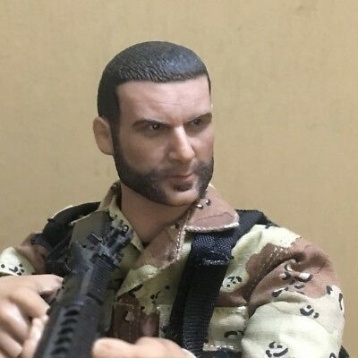 """NEW1:6th Head Sculpt Wolverine/Victor Creed + Nesse For 12"""" Male Action Figure"""