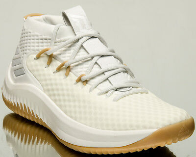 info for f4ef1 57fd1 adidas Dame Lillard 4 Un-Dyed men basketball shoes non-dyed gum BY4496
